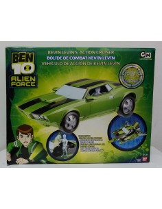 BEN 10 Alien Force - Vehículo de acción de Kevin Levin - BANDAI