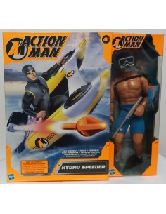 ACTION MAN Hydro Speeder + Action Man Operation Scuba - Hasbro.