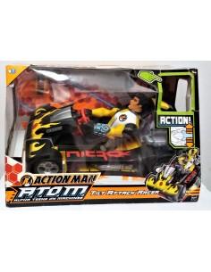 ACTION MAN ATOM - Tilt Attack Racer - Hasbro.
