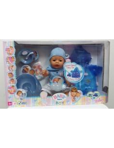 Baby Born Boy - Carita Mágica + impermeable.