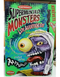 Supermúsculo Monsters (Momia) - BIZAK