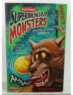 Supermúsculo Monsters (Lobo) - BIZAK