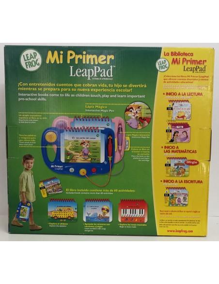 LeapFrog - Mi primer LeapPad (Rosa) - Sistema de Aprendizaje
