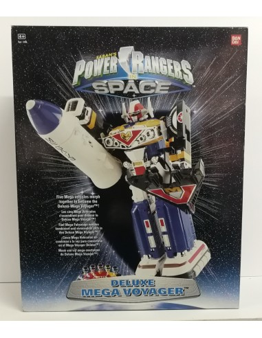 Power Ranger in the Space: Deluxe Mega Voyager - Bandai
