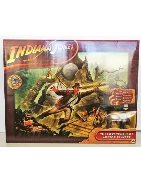 Indiana Jones - The Lost Temple of Akator Playset - Hasbro