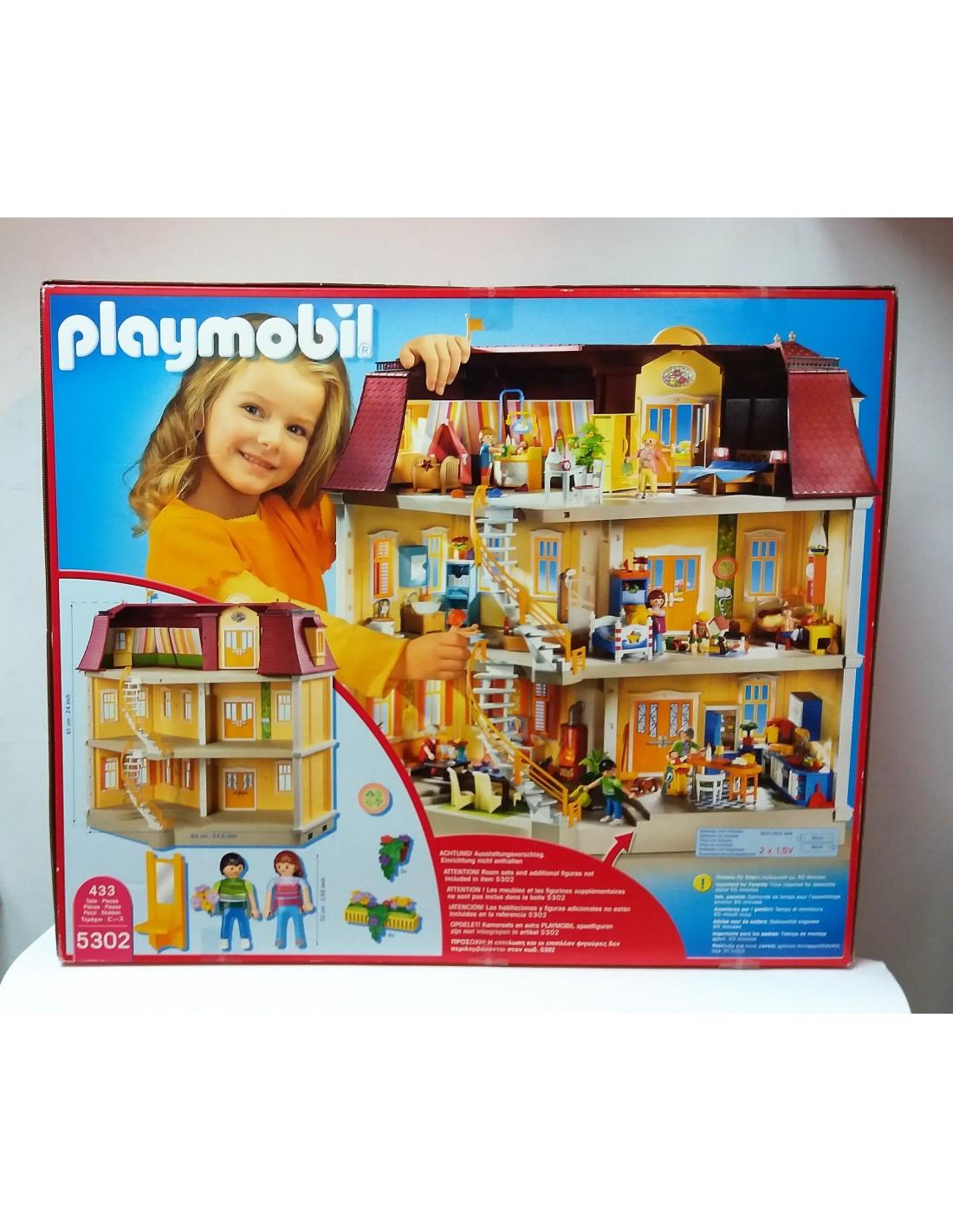 5302 casa de mu ecas playmobil - Gran casa de munecas playmobil ...
