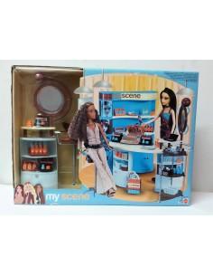 Mi peluquería de muñecas MyScene - Mattel