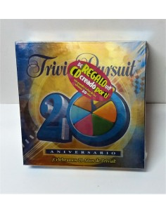 Juego de Mesa - Trivial Pursuit 20 Aniversario - Hasbro