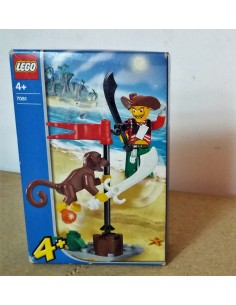 7081 Harry Hardtack and monkey-LEGO 2004