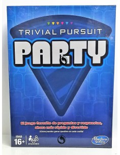Juego de mesa: Trivial Pursuit Party - Hasbro