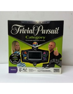 Juego de mesa: Trivial Pursuit Category - Hasbro