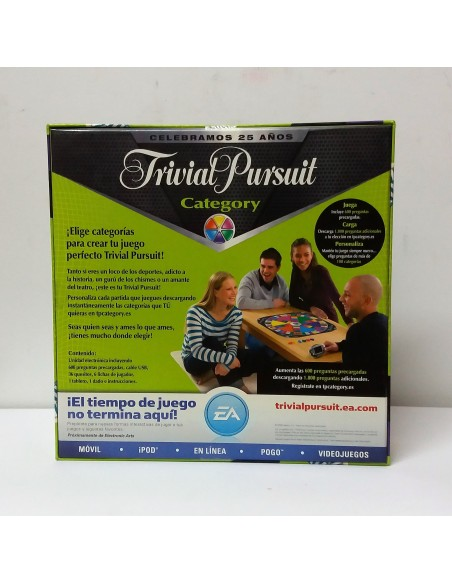 Juego de mesa: Trivial Pursuit Category - Hasbro