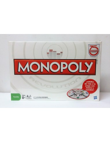 Juego de Mesa: Monopoly Revolution: 75 Aniversario - Hasbro