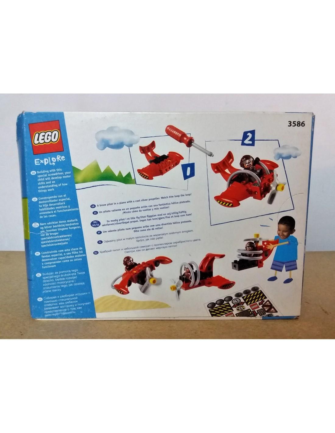 Ca La Stunt 3586 DuploComprar Madrona En Plane Lego Explore nPXkN0O8w
