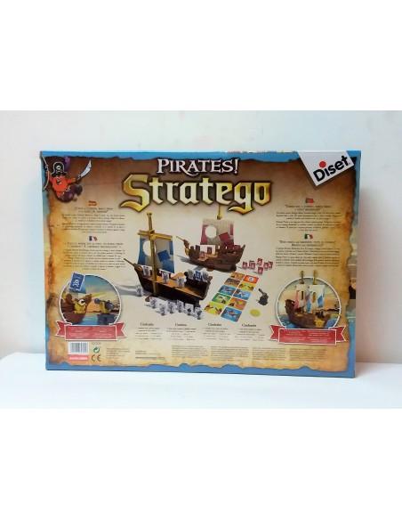 Juego de Mesa: Pirates! Stratego - Diset