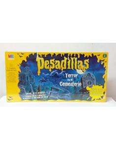 Juego de Mesa: Pesadillas - Terror en el Cementerio - MB Juegos
