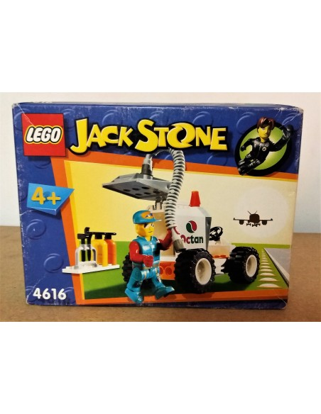 4616 Rapid Response Tanker JACK STONE - LEGO