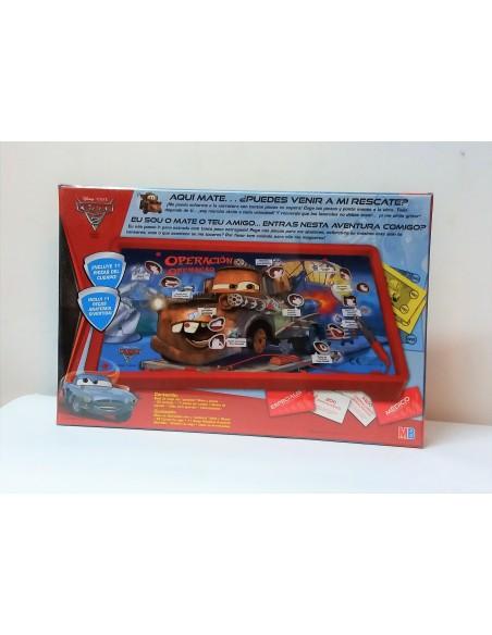 Juego de Mesa - Operación: Cars 2 - Hasbro