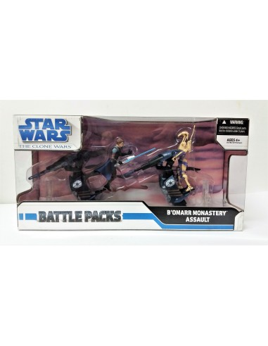 Star Wars: Battle Packs - B'omarr Monastery Assault - Hasbro